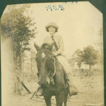 Image of Astride a horse - Print, Photographic