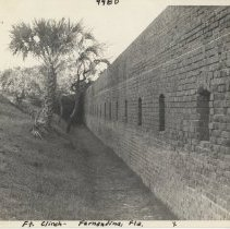 Image of Wall of Fort Clinch - Print, Photographic