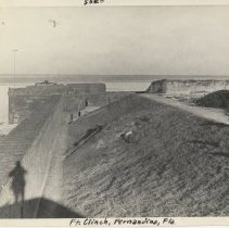 Image of Overlooking Fort Clinch Bastion - Print, Photographic