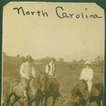 Image of Group of horseback riders in North Carolina.