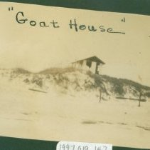 Image of Goat House from alongside and below - Print, Photographic