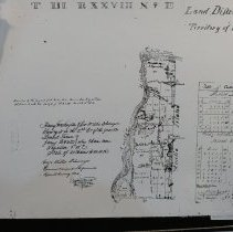 Image of Town 3 N Range 28 E, 1834 - Map