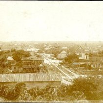 Image of East from the Egmont Hotel - Print, Photographic