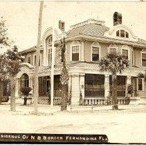 Image of Villa las Palmas postcard - Print, Photographic