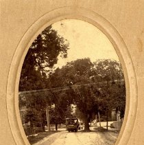 Image of Trolley on Ash Street    - Print, Photographic