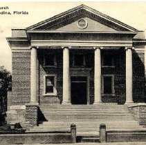 Image of Methodist Church--Fernandina, Florida - Postcard