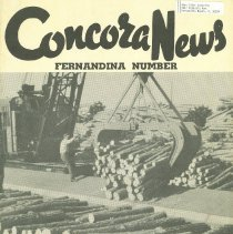 Image of Concora News Fernandina Number - Pamphlet