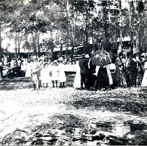 Image of Picnic on St. Mary's River near Hilliard - Print, Photographic