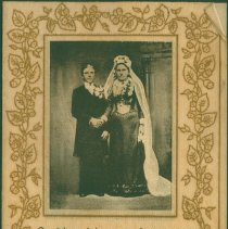 Image of Photographic cover of anniversary card.