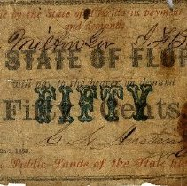 Image of State of Florida Paper Money - Money, Paper