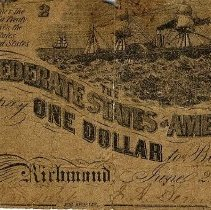 Image of Paper Money late 1800's - Money, Paper