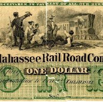 Image of Tallahassee Railroad Co. Scrip - Scrip
