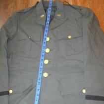 Image of Green Summer Coat - Blazer