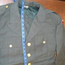 Image of Green Winter Uniform Coat - Blazer