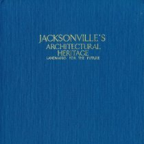 Image of Jacksonville's Architectural Heritage:  Landmarks for the future - Book
