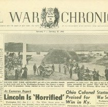Image of Civil War Chronicle - Newspaper