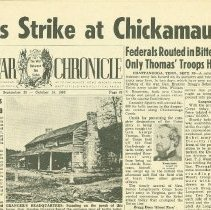 Image of Civil War Chronicle - Newspaper