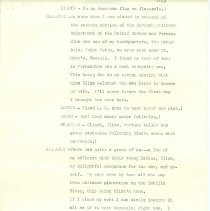 """Image of Script for """"Romance of Eight Flags"""""""