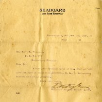 Image of Letter to Scott M. Thompson from E. D. Doyle - Letter