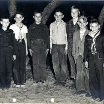 Image of Group photo of Cub Scouts - Print, Photographic