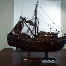Image of Model of Shrimp Trawler - Trawler