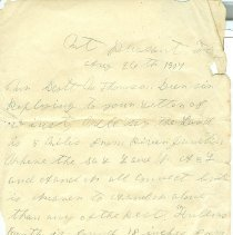 Image of A letter to Scott M. Thompson from H. M. Mc'Donald - Letter