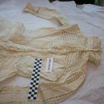 Image of Victorian cotton linen dress