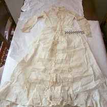 Image of White cotton Victorian Summer Dress - Dress, Day