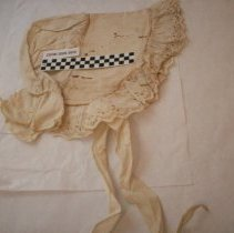 Image of Cotton Linen Bonnet - Bonnet