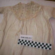Image of Light cotton Linen Christening gown - Dress