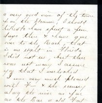 Image of Letter to Mamie Jones
