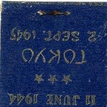 Image of U.S.S. Missouri matchbook