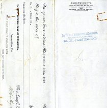 Image of Disbursement Voucher to R. H. Jones Co.