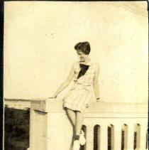 Image of Sitting woman