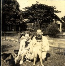 Image of Family on the lawn - Print, Photographic