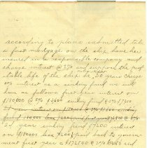 Image of Thompson Letter