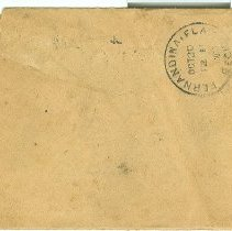 Image of Envelope bacl