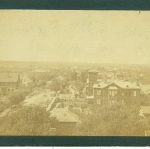 Image of 7th Street looking south (1880's ?) - Print, Photographic