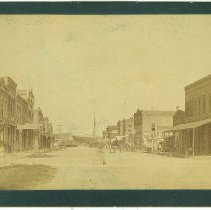 Image of Centre Street looking west  (1880's ?) - Print, Photographic