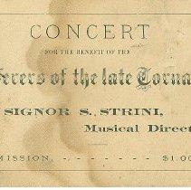 Image of Benefit Concert ticket