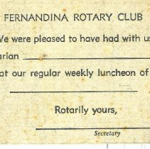 Image of A Rotary postcard