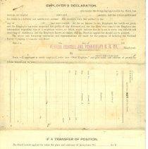 Image of Blank application for Surety bond pg 4