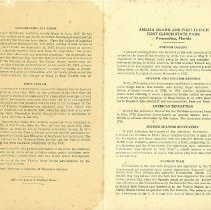 Image of Amelia Island and Fort Clinch leaflet - Leaflet