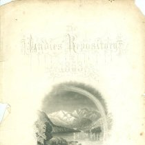 Image of Cover - Ladies Repository  1863