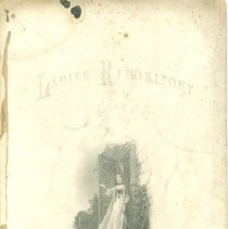 "Image of ""The Ladies Repository of 1874"" collection of 6 engraving prints. - Print"