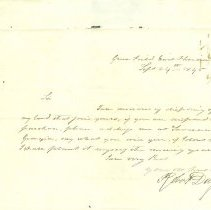 Image of Letter from Robert Day - Letter
