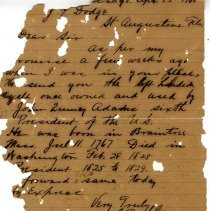Image of Collection of documents, notes, etc.                    - Correspondence