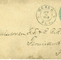 Image of Letter (front)