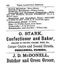 Image of Fernandina Directory 1882