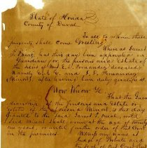 Image of Document (front)